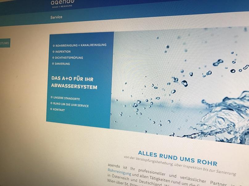 aqendo website 2 0 aqendo rohrreinigung in wien und ganz sterreich. Black Bedroom Furniture Sets. Home Design Ideas